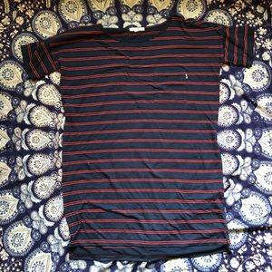 Vans Striped T-Shirt Dress